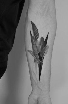 Dotyk Pawel Indulski feather tattoo Palm Tattoos, Top Tattoos, Line Tattoos, Body Art Tattoos, Tattoos For Guys, Thigh Tattoos, Couple Tattoos, Feather Tattoo Design, Feather Tattoos