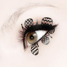 ٩꒰☬ཻैั້͈ᗜ☬ཻैั້͈✩ೄ❤* - Paperself Eye Lashes - http://www.paperself.com/