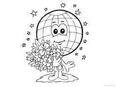 This is section includes Earth Day Coloring Pages for preschool, kindergaten and primary school. Free Printable Coloring pages. Earth Day Coloring Pages, Coloring Pages For Kids, Free Coloring, Kids Coloring, Adult Coloring, Importance Of Earth Day, Earth Day Images, Earth Day Crafts, Earth Day Activities