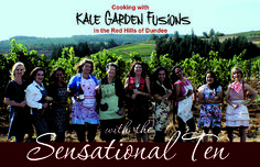 Kale Garden Fusions Cook Book from Dundee, Oregon