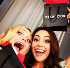 Eliza Taylor and Lindsey Morgan.