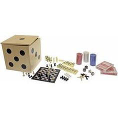 6-in-1 Game Cube Set by Streamline Inc.