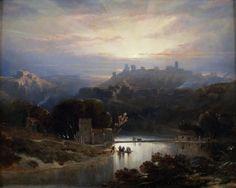 David Roberts: The Castle of Alcalá de Guadaíra (1833)