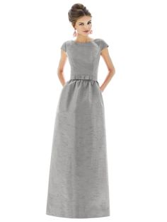Winter bridesmaid: Dessy Group Style D571