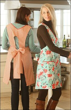 Indygo Junction SewingPattern: IJ963 Vintage V-Neck Apron