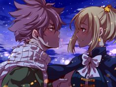 Find images and videos about anime, fairy tail and nalu on We Heart It - the app to get lost in what you love. Fairy Tail Love, Fairy Tail Nalu, Lucy Fairy, Fairy Tail Amour, Art Fairy Tail, Fairy Tail Comics, Image Fairy Tail, Fairy Tail Natsu And Lucy, Fairy Tale Anime