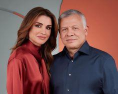 Jordan Royal Family, Queen Rania, Rain Jacket, Windbreaker, Royalty, Couples, Royal Families, Future, Style
