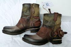 AirStep Biker Cowboy Boots Stiefel dreifarbig Größe 39 NEU!!! | eBay