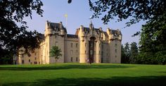 Fyvie Castle is an outstanding example of Scottish baronial architecture