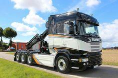Scania. R 580 8X4 ZWAAR AUTOKRAAN . HIAB XS 211 H PAD. HAKARM.