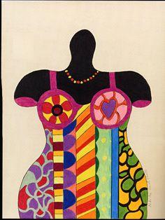 NIKI de SAINT PHALLE, créatrice de genie - La Palette et le Rêve.....