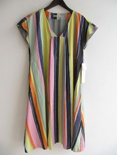 Mina Perhonen multistripe dress