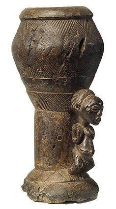 Luba Bow Stand 2, DRC Africa Tribes, African Drum, African Artwork, African Sculptures, African Jewelry, Small Art, African History, Art Object, Instruments
