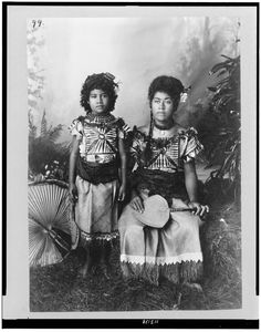 Samoa people in 1890
