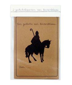 Sinterklaas gedichtkaarten -De Oude Speelkamer