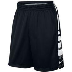 "Nike Men's Elite Dri-fit Basketball 9"" Shorts (1.080 CZK) ❤ liked on Polyvore featuring men's fashion, men's clothing, men's activewear and men's activewear shorts"