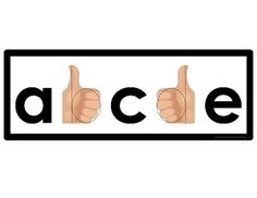 """""""Thumbs Up!"""" for 'b'"""