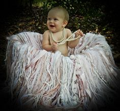 Baby Pink Ribbons & Pearls You can't get any by HippityHootNotion, $95.00