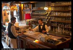 Picture/photo (Belgium People): Tavern Chaloupe d'or. Brussels, Belgium