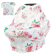 breastfeeding cover - Baby Nursing Breastfeeding Cover Soft Breathable Stretchy Infant Car Seat Canopy Covers >>> Continue to the product at the photo web link. (This is an affiliate link). Highchair Cover, Stroller Cover, Used Strollers, Breastfeeding Scarf, Nursing Cover Up, Car Seat Accessories, Baby Cover, Baby Pillows, Cool Fabric