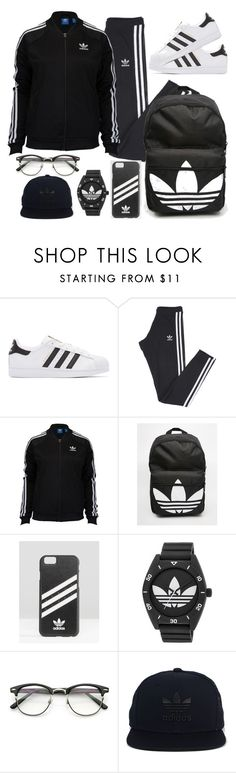 """""""Adidas Gear"""" by bxby-girl-rielle ❤ liked on Polyvore featuring adidas Originals and adidas"""