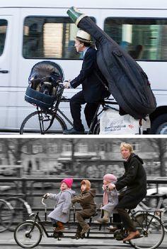 Holland ,een land vol met fietsers !!!