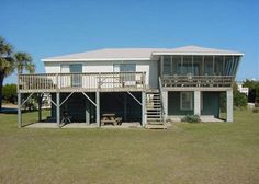 Edisto Beach Vacations Rentals | Beach Front | Havin' A Ball |Atwood Vacations | Edisto Island, SC