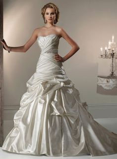 Calista -by Maggie Sottero. This was my dress! <3