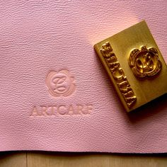 Start your #leather business with your own #LOGO. Custom Leather Stamp Embossing Stamp by artcarf on Etsy, $40.00