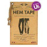 Double-Stick No Iron No Sew Fashion Hem Tape for Denim (Jeans, Pants, Skirt, Short) (Apparel)By Bristols 6