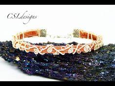 Organic vines wirework bracelet - YouTube