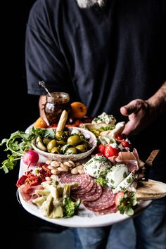 Greek Inspired Antipasto Platter #charcuterie #food #foodie #goodfood #recipe #tasty #yummy