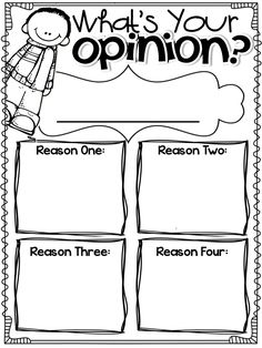 opinion writing for Common Core...great resource!