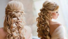 penteado cabelo cacheado noiva - Pesquisa Google