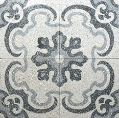 Terrazo Floor Tiles by Bespoke Tile and Stone and Earp Bros. Contact your local Earp Bros Showroom for a tile sample or more information. Installing French Doors, Butler Sink, Unique Tile, Stone Bench, Feature Tiles, Encaustic Tile, Turin, Terrazzo, Vintage World Maps