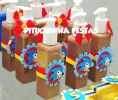 BRIGADEIRO PUMP | Pituquinha Festas | 2C2DF6 - Elo7