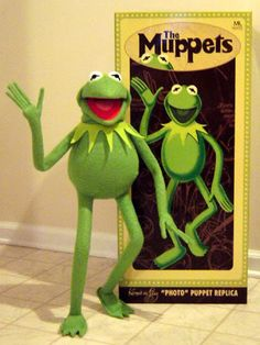 Master Replicas' Kermit The Frog