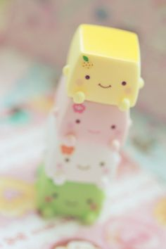 Tofu tower! by Kinomi ✿ on Flickr.