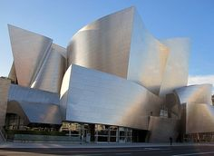 by Frank Gehry: Walt Disney Concert Hall, Los Angeles