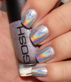 Gosh Holographic Hero 549, its supposed to be more holo than the Chanel's hologram and alot cheaper! Cant wait to get my bottle in the mail!