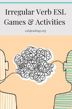Check out these irregular verb games and activities for ESL, along with worksheets, practice opportunities, lesson plans & more. It's past tense irregular verbs made easy. #irregular #verb #verbs #teaching #english #teachingenglish #teachingesl #eslteacher #englishteacher #tefl #education #grammar #eslgrammar #englishgrammar Fluency Activities, Grammar Activities, Icebreakers, Teaching Tips, Efl Teaching, Teaching English Grammar, Online Lessons, Esl, Lesson Plans