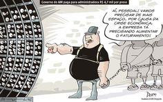 Charge de opinião do Dum sobre o sistema carcerário no Amazonas (05/01/2017) #Charge #Dum #Prisão #Cadeia #SistemaCarcerario #Amazonas #Presos #HojeEmDia