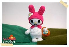 My Melody from Sanrio: free crochet pattern