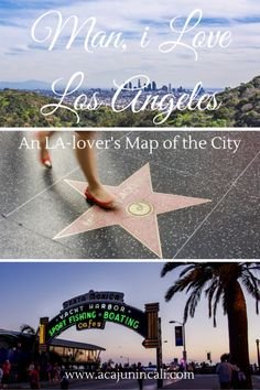 Check out my ode to Los Angeles, including my handy Google map full of great things to do and see in La-La-Land!  a Cajun in Cali