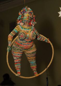 Artist of the day: Artist of the day, March 3-4: Yulia Ustinova, Russian crochet artist, sculptor