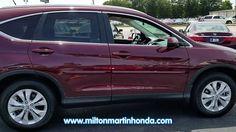 USED 2014 Honda CR-V 2WD 5DR EX-L W/NAVI at Milton Martin Honda  #34275A