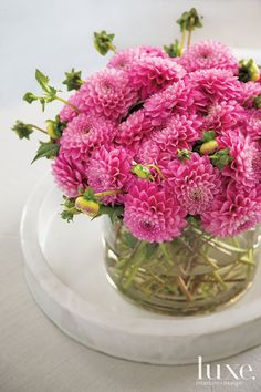 20 Pretty Floral Arrangements to Copy   LuxeDaily - Design Insight from the Editors of Luxe Interiors + Design