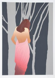 Woman in Forest Limited Edition by Derrick Brown at Art.com NEW MOON WINNER 2DEC13