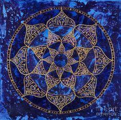8 pointed star Mandala
