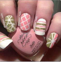 Credit to @Melissa Bitton Nails Love this design